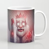 doom Mugs featuring King of Doom by Dr. Lukas Brezak