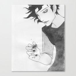 Gaki - Sumi-e Canvas Print