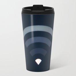 Wifi symbol signal LCD screen Travel Mug
