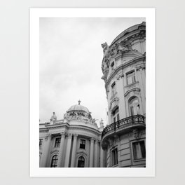 Vienna - In the Streets Art Print