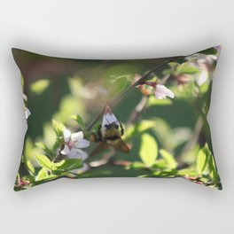 Cherry Bee 5 of 5 Rectangular Pillow
