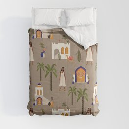 Minimal architecture covers Comforters