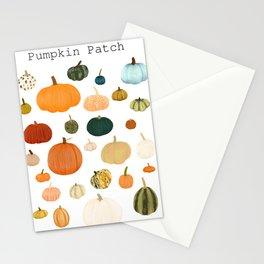Pumpkin Patch Season Stationery Cards