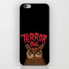 Terror Owl iPhone & iPod Skin