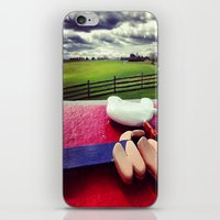 woodstock iPhone & iPod Skins featuring Woodstock by Leah Galant