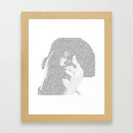 Notorious B.I.G. Framed Art Print