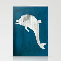 dolphin Stationery Cards featuring Dolphin by Renato Armignacco