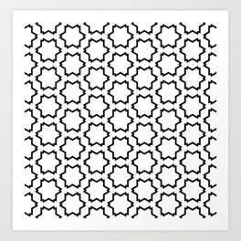 Graphic Art Pattern-P4-C5 Art Print
