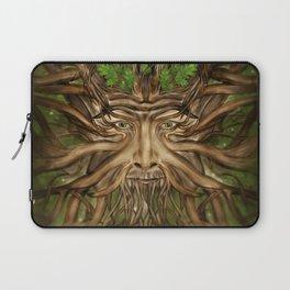 The Green Man - Spring Laptop Sleeve