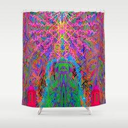 Baked By A Southwestern Prayer Shower Curtain
