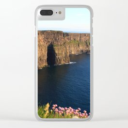 Cliffs of Moher In Evening Light Clear iPhone Case