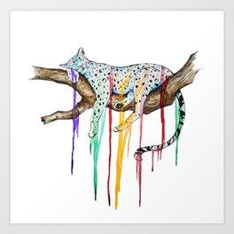Loss of Color Art Print