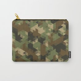 Triangles Camo Carry-All Pouch