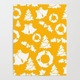 backdrop, background, card, christmas, december, decoration, design, graphic, holiday, paper, patter Poster