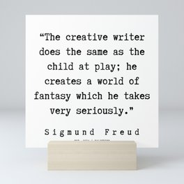 44 |   Sigmund Freud Quotes | 190926 Mini Art Print