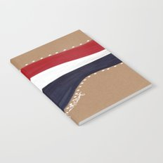 Red White and Blue Notebook