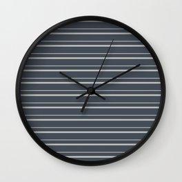 Benjamin Moore 2019 Color of the Year 2019 Metropolitan Light Gray on Hale Navy Blue Gray HC-154 Wall Clock