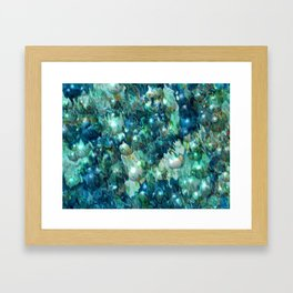 Blue Christmas Framed Art Print