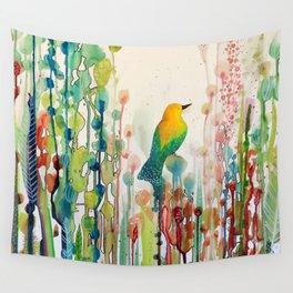 voir le monde autrement Wall Tapestry