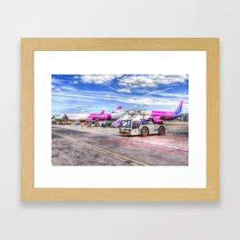 Wizz Air Aircraft Framed Art Print