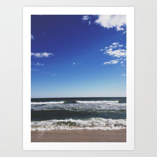 Cupsogue Beach, Long Island Art Print