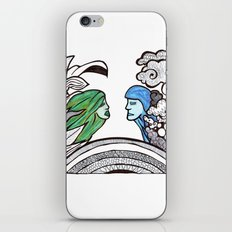 From two different worlds iPhone & iPod Skin