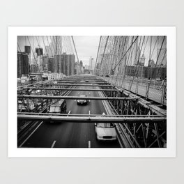 New York, New York  #1 Art Print