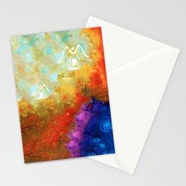 Angels Among Us - Emotive Spiritual Healing Art Stationery Cards