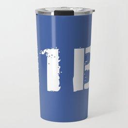 11B Infantryman (Blue) Travel Mug