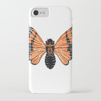 moth iPhone & iPod Cases featuring Moth by Eric Weiand