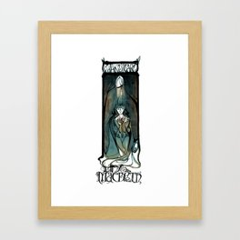 Lady Macbeth Illustration From Shakespeare Framed Art Print