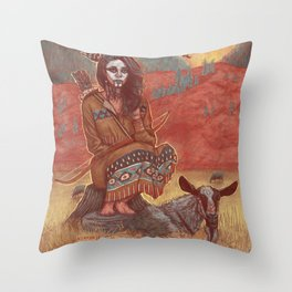 spook of a nation Throw Pillow