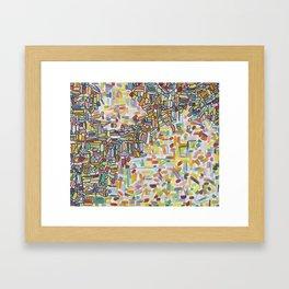 The dump Framed Art Print