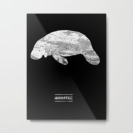 Manatee Metal Print
