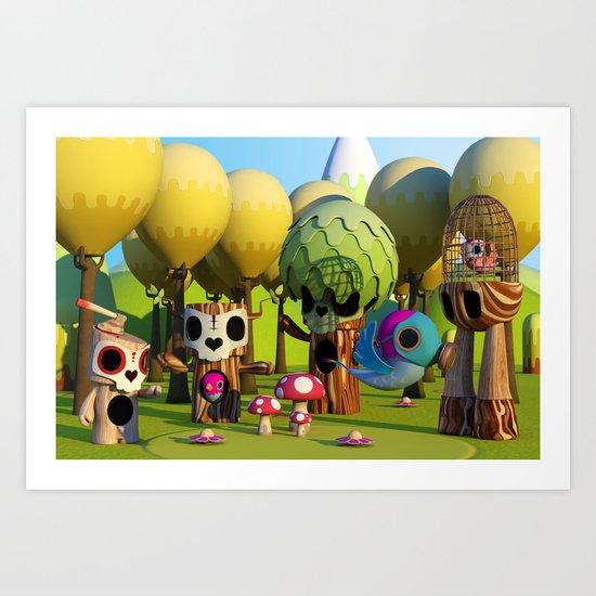 The TreeBorn Gang Art Print