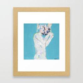 CEREBRAL by Angelica Salazar Framed Art Print