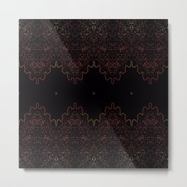 Vibration Metal Print