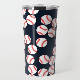 Cute Baseball Travel Mug