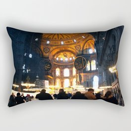 The Apse Of Hagia Sofia Rectangular Pillow