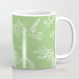 Lady Fern - Green Coffee Mug