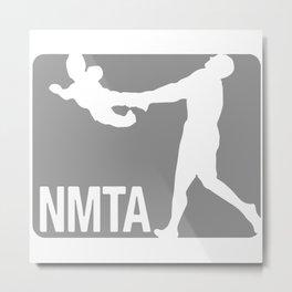 National Midget Tossing Association Funny Metal Print