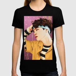 BTS SUGA SUMMER FANART T-shirt