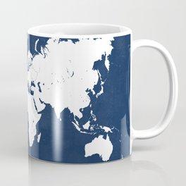 The world awaits world map Coffee Mug