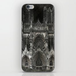 Cathedral Black iPhone Skin
