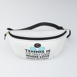 Tennis Game Love   Gift Idea Fanny Pack