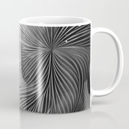 Red composition of multiple directional lines. Coffee Mug