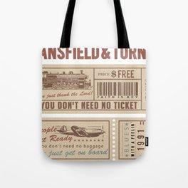 Mansfield&Turner - People Get Ready Tote Bag