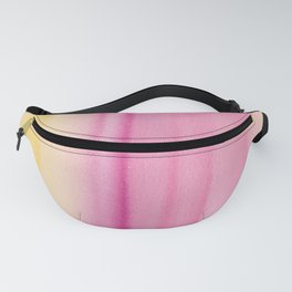 16     190728   Romance Watercolour Painting Fanny Pack