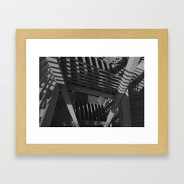 Layer upon layer upon layer  Framed Art Print