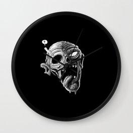 Zombie Drool Wall Clock